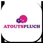 Logo AtoutsPluch par Sarah Roussel