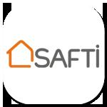 Safti Immobilier avec Nicolas Benoit et Sarah Roussel