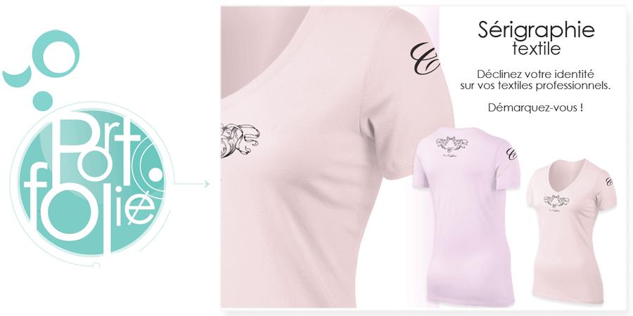 Réalisation de vos motifs à destination de tee-shirts sérigraphiés