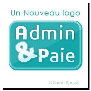Nouveau logo pour Admin et paie par Sarah Roussel