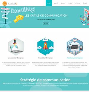 site agence de communication 91