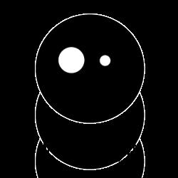 le graphiste fabrique des logos rigolos