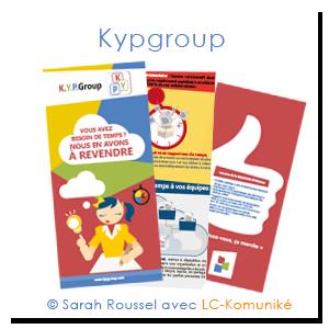 plaquette kypgroup réalisée par Sarah Roussel