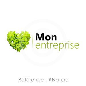 Logo Référence Nature, idéal paysagiste