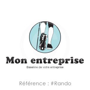 Logo Référence Rando à personnaliser