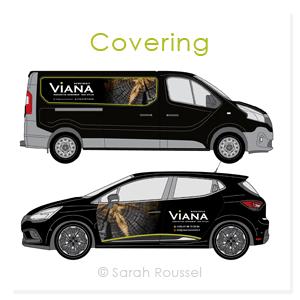 Covering de véhicules de Viana Menuiserie