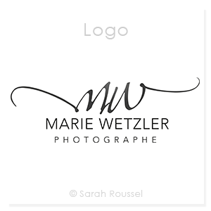 Logo type signature pour une photographe corporate
