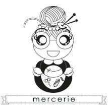 Création d'un logo pour Charlotte aux Fils, mercerie à Saclas