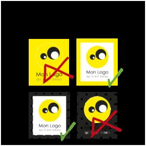 les conseils de bon usage de votre logo pour éviter qu'il soit déformé ou illisbile