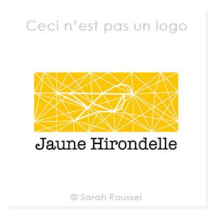 Création d'un nouveau logo pour Jaune Hirondelle