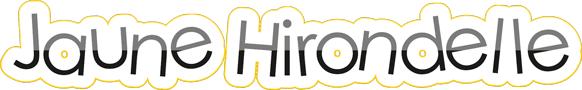 Création d'un logo pour Jaune Hirondelle