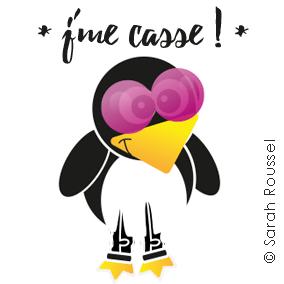 Pingu en vacances chez son pote le cerf