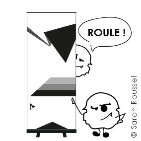 Création de roll up pour vos salons