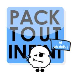 Pack Tout infini et au delà ! Un pack complet pour les entrepreneurs souhaitant être autonome et maître de leurs outils