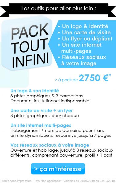 Pack Infini : les outils de communication pour aller plus loin