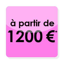 Combien coûte un logo, une carte de visite et un site internet ? Ici un pack tout compris à 1200€