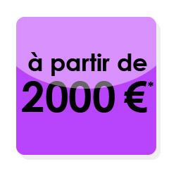 Combien coûte un site internet complet ? Ici un pack tout compris à 2000€
