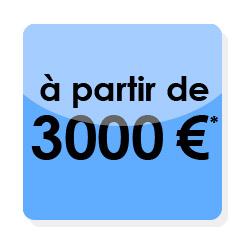 Un site et vos réseaux sociaux en autonomie pour 3000€ avec votre identité d'entreprise