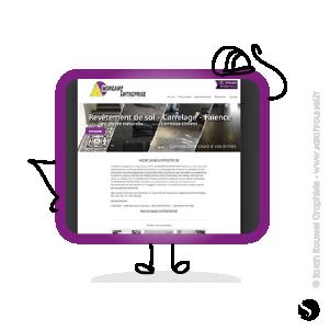 Création d'un site internet pour une entreprise de btp à Longpont sur Orge