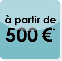 site internet vitrine à partir de 500 €