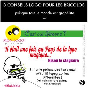 3 conseils pour son logo 3 : la typographie