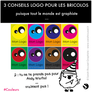 3 conseils pour son logo 2 : les couleurs