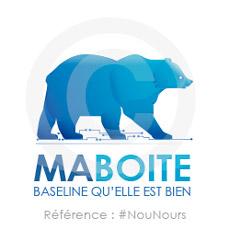 Logo Ours à personnaliser avec le nom de votre entreprise