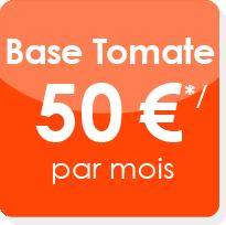 Offre tomate d'entretien du site internet