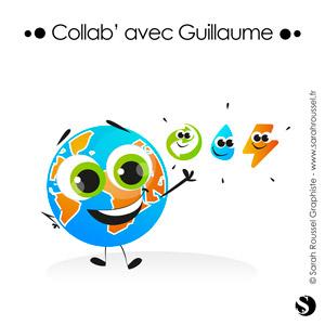 Illustration d'une mascotte pour projet éducatif de sensibilisation à l'écologie