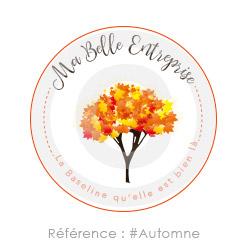 Logo Automne à personnaliser avec le nom de votre entreprise