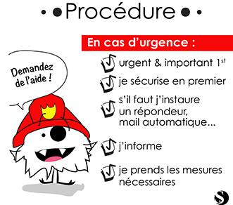 Mettre en place une procédure d'urgence