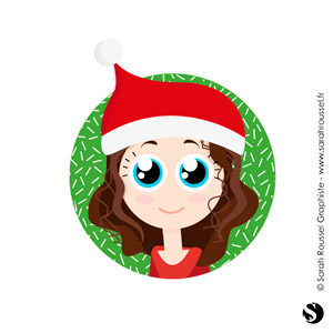 Pied de mail avatar de Noël