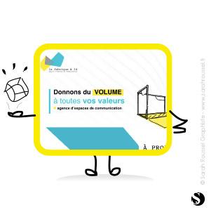 Création d'un site internet dynamique pour une agence de communication spécialisée dans l'agencement d'espaces 3D