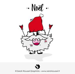 Création de visuel pour Noël en Essonne