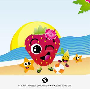 Création illustration pour les vacances