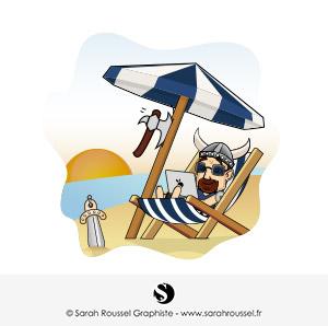 Création visuel vacances